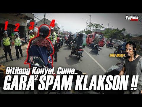 SPAM KLAKSON DEPAN RAZIA, LANGSUNG TILANG!! | Diary & My Opinion - Motovlog #42