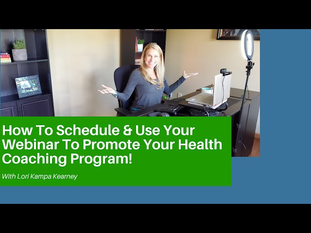 How To Schedule Your Webinar & Launch Calendar Like a Pro