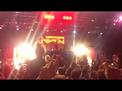Nero - 'Me & You' live @ Parklife Brisbane 2012 and Riverfire