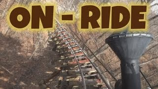 Thunderation On-ride Front Seat (HD POV) Silver Dollar City