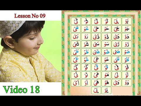 Online Quran O Tajweed Lesson 09 Complete Video 18