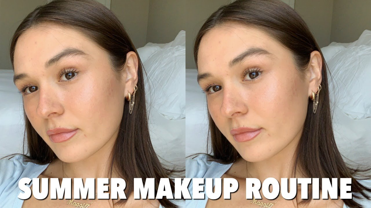 Summer Makeup Routine *clean beauty* | Maggie MacDonald