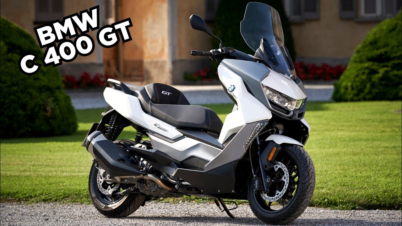 2020 Bmw C 400 Gt Best Scooter Youtube