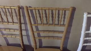Обзор стульев Кьявари из поликарбоната для ресторана и банкетного зала