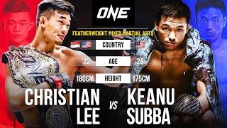 Christian Lee Vs. Keanu Subba Full Fight Replay
