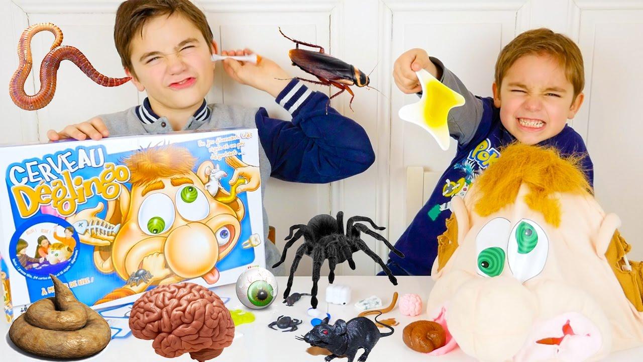 jeu cerveau d glingo araign e vomi cerveau crott doovi. Black Bedroom Furniture Sets. Home Design Ideas