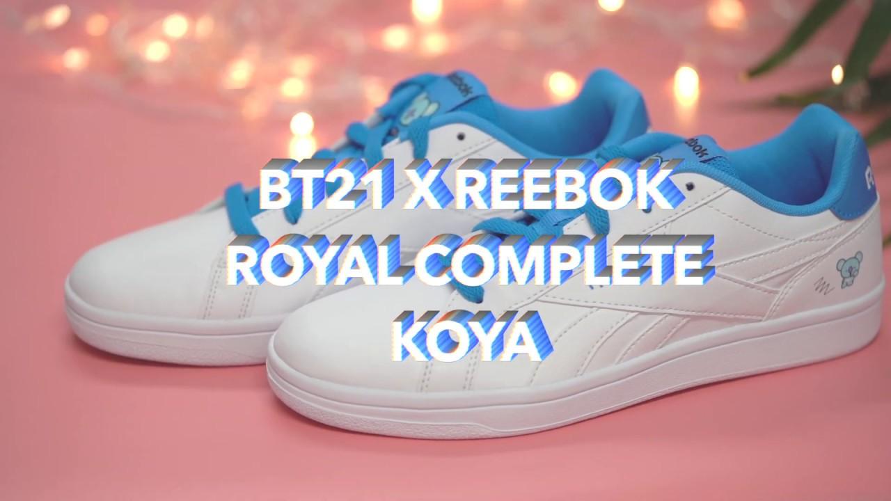 8c4d575c3070 Introducing BT21 x Reebok Koya BTS Shoes