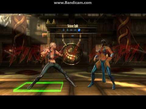 Mortal Kombat 9 Sonya Blade Fatalities Xbox 360