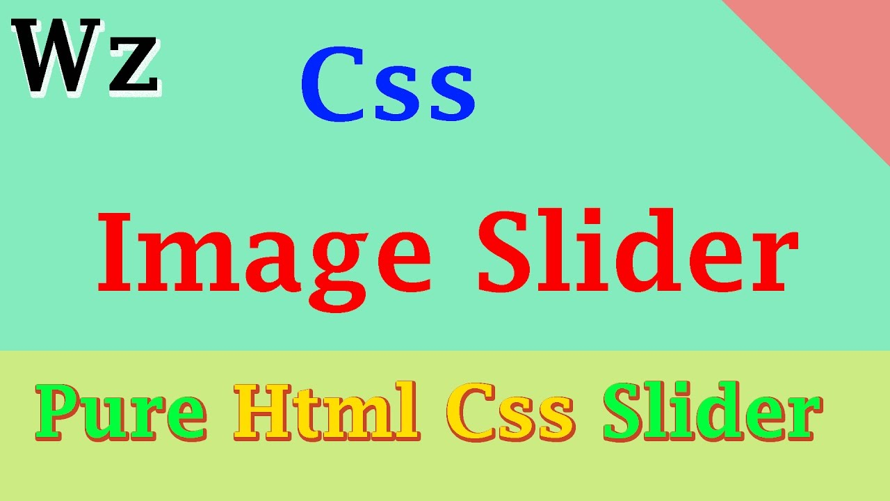 Automatic image slider with text in html css | html  2019-02-23