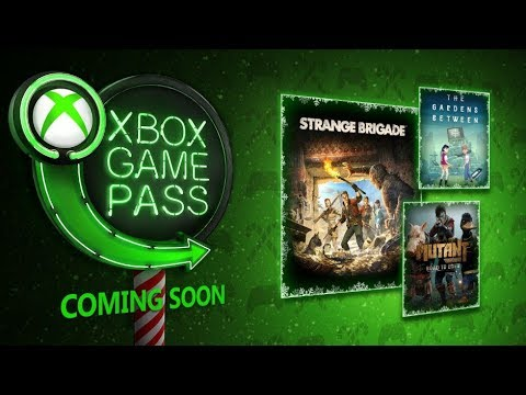 Xbox Game Pass December 2018 New Games Best Month Ever