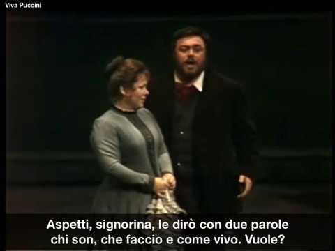 Luciano Pavarotti - Che gelida manina - La Bohème - Puccini mp3