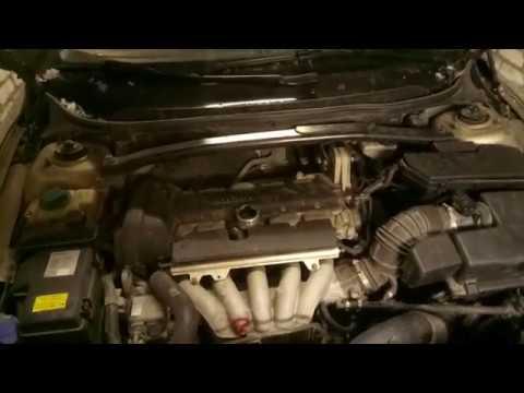 Замена маслоуловителя Вольво S60 B5244S 2.4
