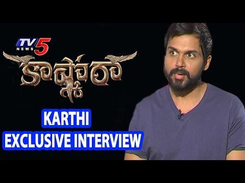 Karthi Exclusive Interview On Kaashmora...
