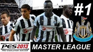 PES 2013 MASTER LEAGUE Newcastle United #1 (Un SuperCrack Argentino al NewU)