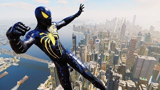 Spider-Man PS4 - Anti-Ock Suit Master Combat, Web Swinging & Free Roam Gameplay