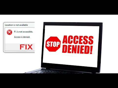 Fix Hard drive Access denied [ Hard disk is not accessible ]