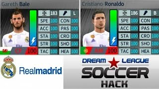 Dream league soccer 17 HACK (Real Madrid) Unlimited Players development..