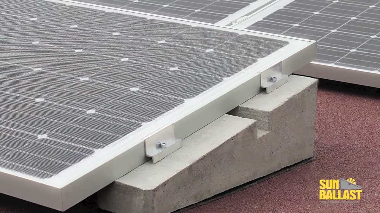 Impianti Fotovoltaici Busto Arsizio sunballast- sistema di montaggio pannelli fotovoltaici