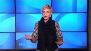 Ellen's Monologue - 10/11/10