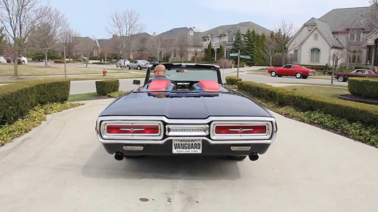 1964 ford thunderbird classic muscle car for sale in mi vanguard motor sales youtube Ford motor auto sales