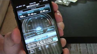 iPhone 5 4G LTE Speed Testing FAST!