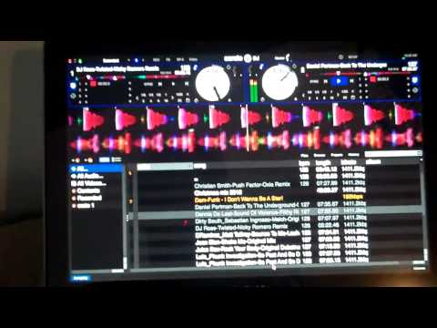 Pioneer DDJ-SX with Serato DJ using SLIP and the ROLL function