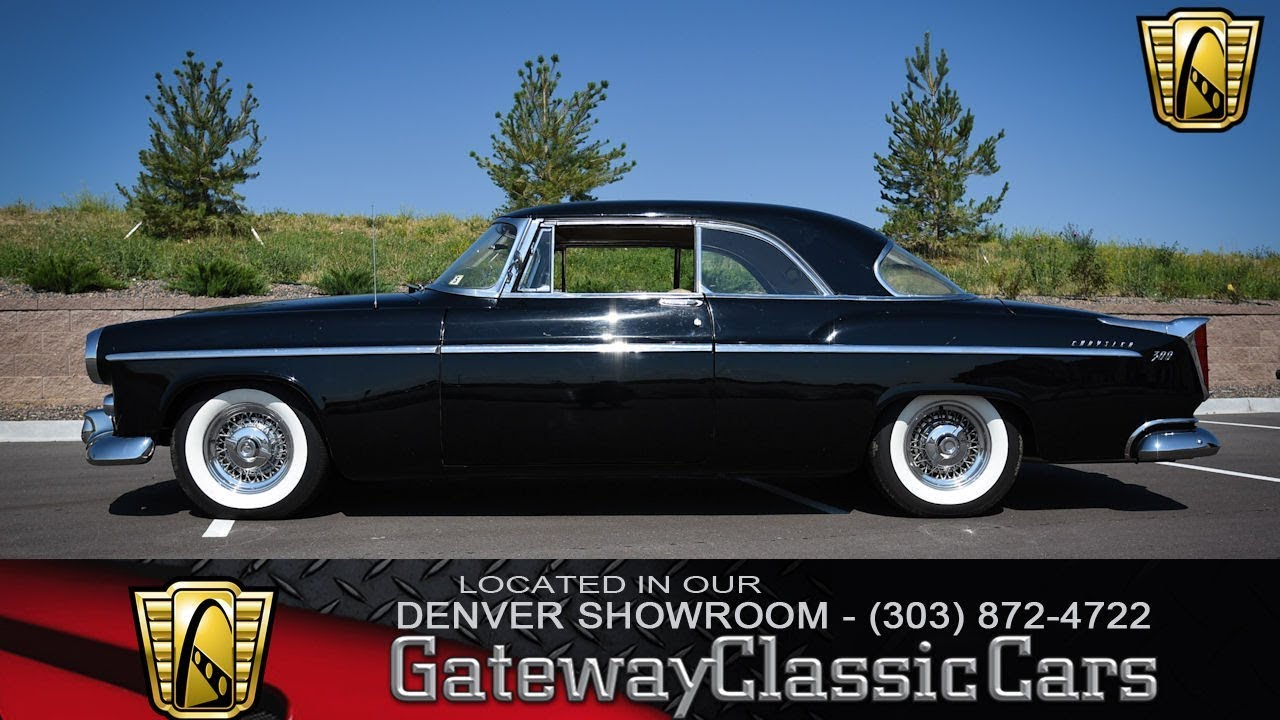 1955 Chrysler C300 Now Featured In Our Denver Showroom 67 Den Youtube 1942 New Yorker Convertible
