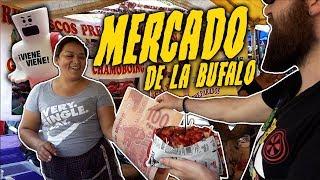 MERCADO DE PULGAS LA BUFALO TIANGUIS CIUDAD DE MÉXICO CHACHARAS Y COMIDA