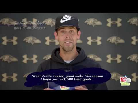Justin Tucker, Joe Flacco & More Baltimore Ravens Get Pep Talks from Young Fans! | NFL