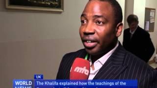 Ahmadiyya Peace Symposium 2014 Guest Feedback   YouTube Exclusive Extra