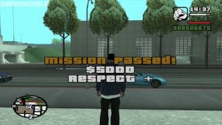 GTA San Andreas - Test Drive - Steal Cars Mission 2