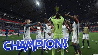 [HD] France vs Italie Finale Coupe du Monde #07 Fifa 16
