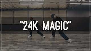 "Bruno Mars ""24K Magic"" Choreography by Mike Song & Tony Tran 