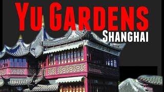 China Travel Documentary: Yuyuan Gardens in Shanghai, Peaceful Chinese Garden Tour