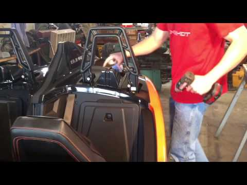 Polaris Sliingshot SLR Rear Body Panel Removal