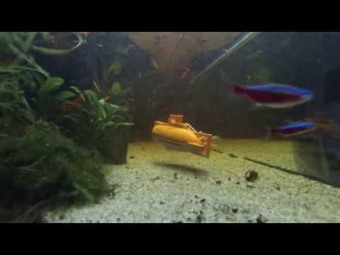 Revell Sword Fish 2 aquarium submarine