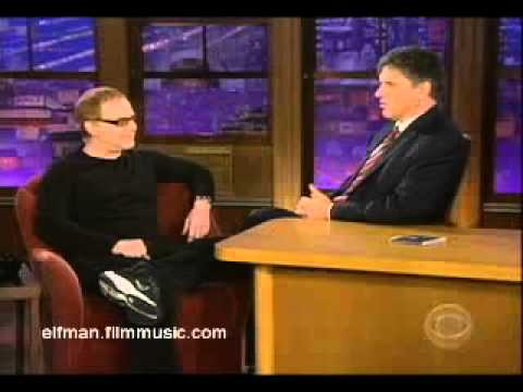 Danny Elfman on Late Late Show
