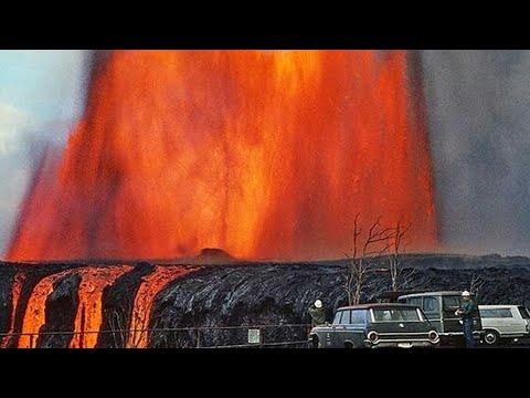 Фонтаны лавы, адские температуры. Самые большие вулканы Европы проснулись
