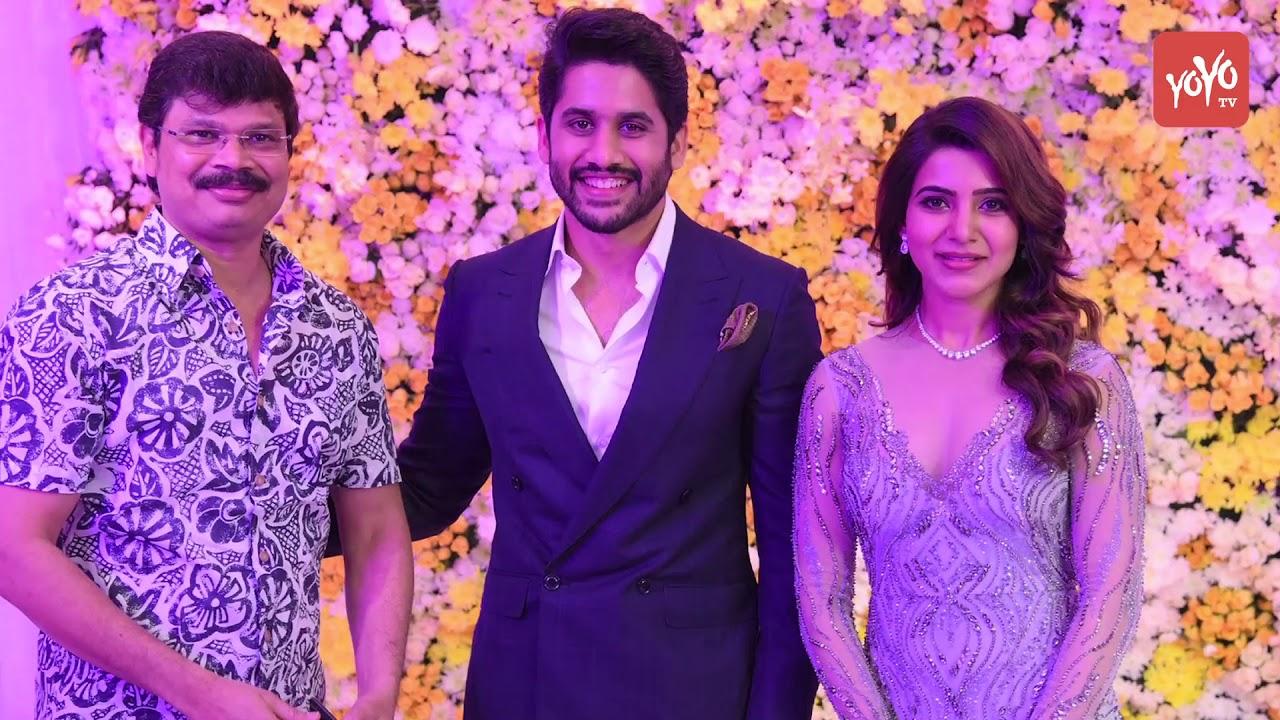 Samantha And Naga Chaitanya S Wedding Reception Akkineni Nagarjuna Amala Akhil Yoyo Times