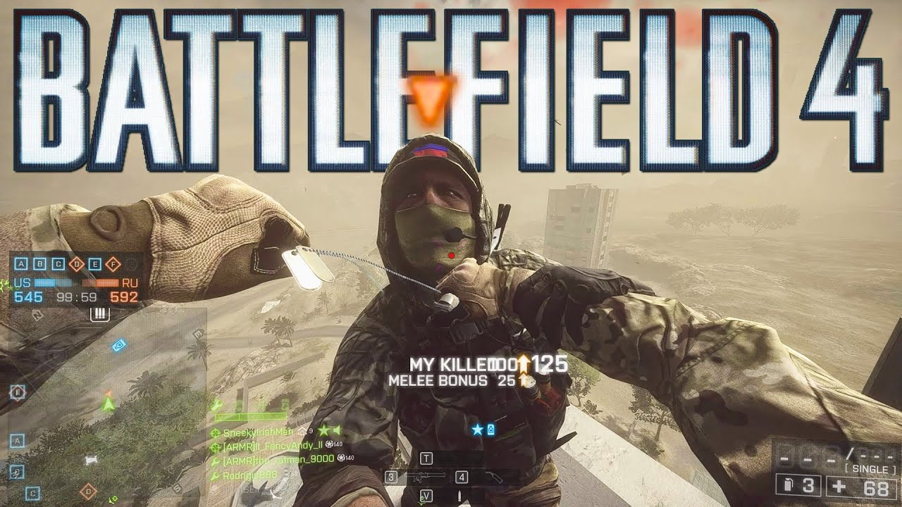 Playing Battlefield 4 in 2021!