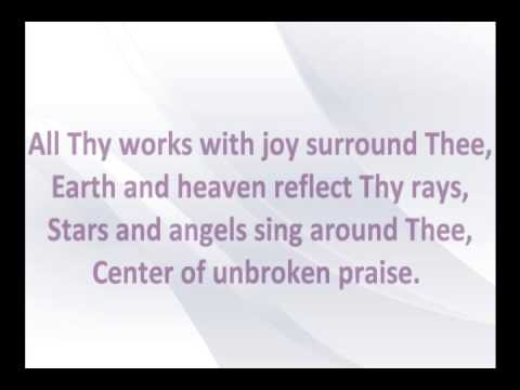 Joyful, Joyful We Adore Thee with Lyrics by Collin Raye