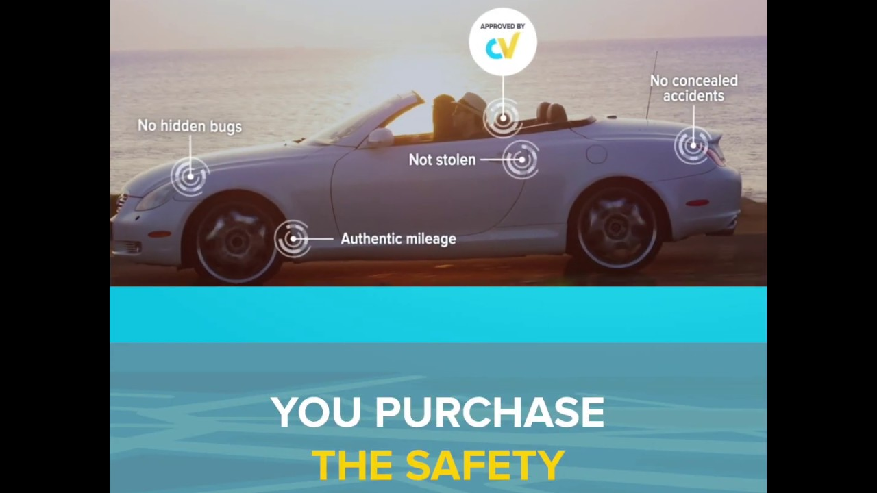 Buying a used car? Always check its history with carVertical VIN decoder