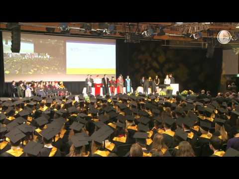 CEMS Graduation Ceremony 2012 Part 2, First Round of Graduands