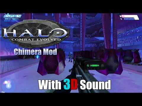 Halo: Combat Evolved w/ Chimera 60FPS mod & 3D spatial sound