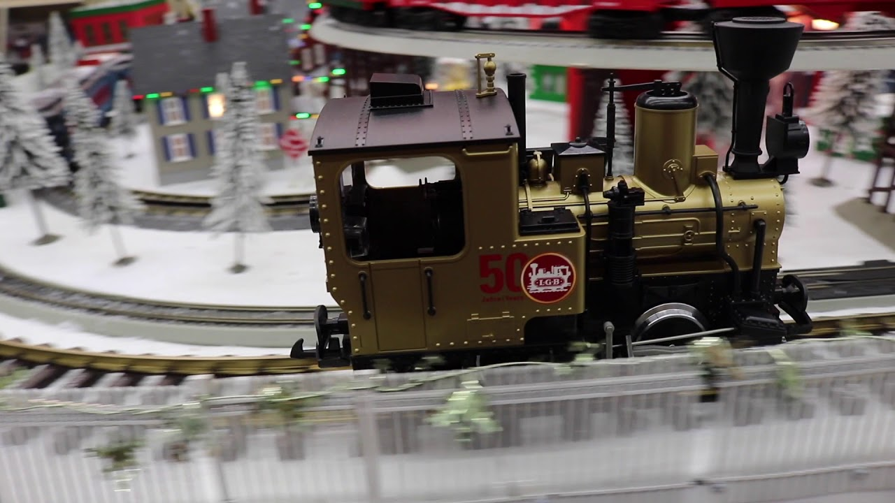LGB #20216 50 Years of LGB Anniversary Golden Stainz Locomotive