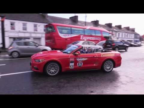 Cannon Ball Ireland 2016 Charlestown Co. Mayo