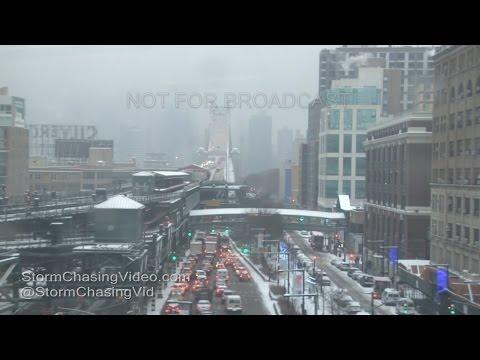 Queens, New York City - Heavy Snow - 12/17/2016