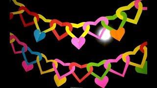Супер-Быстро Как Сделать Сердце Своими Руками. Цветы, Подарок, Гирлянды Из Бумаги DIY Paper Heart
