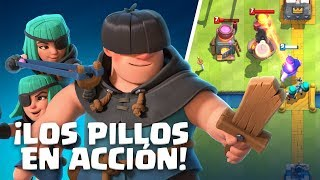 Clash Royale en Español: ¡Pillos en acción! (¡Nueva Carta!)
