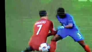 Rough Tackle Against Cristiano Ronaldo: Pray for Ronaldo : Euro 2016 Finals